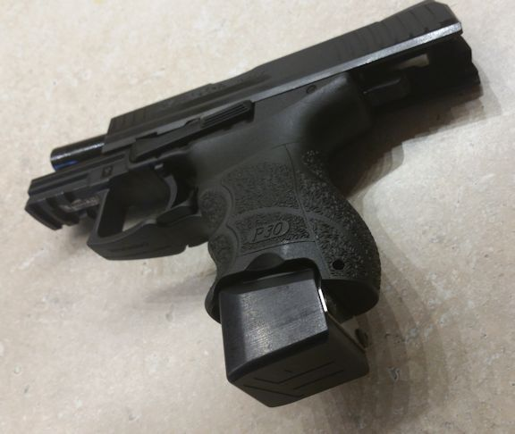 "P30SK with TF ""Border Special"" 5 installed. (Photo by Stephen ..."